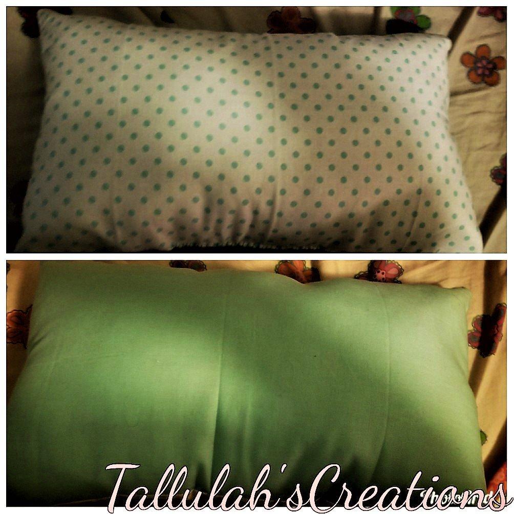 """""""Teal Polka Dot"""" Miniature Pillow"""