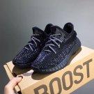 Kid's/Teen's Yeezy Boost 350 V2 Runner Shoes Black