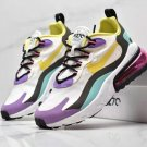 Runner Air Max 270 RT Shoes - White/Dynamic Yellow/Black/Bright Violet