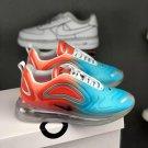 Women's Air Max 720 Gradient Blue Red 05RHLF11  Runner Sneakers