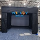 Inflatable golf tent Inflatable Golf Simulator Building 4.6x5.25x2.8m