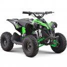 MotoTec 36v 500w Renegade Shaft Drive Kids ATV Green