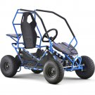 Moto  Tec Maverick Go Kart 36v 500w blue/red