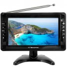 "Trexonic Portable Ultra Lightweight Rechargeable Widescreen 10"" LCD TV"