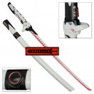 Overwatch Cyber Ninja Watch Sci-Fi Katana Swift Strike Carbon Steel Replica Sword