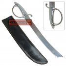 American Civil War Cavalry Dagger Steel Saber Knife Style Full Knuckle Guard Polished