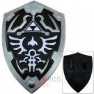 """FOAM Dark Link Legend of Zelda Triforce Shield Prop Replica 24.5"""" Life Sized - FFS-003"""