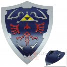 Legend of Zelda Link Breath of the Wild Fiberglass Shield with triforce - WSH-08