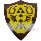 Legend of Zelda Link Wooden Shield Fan Made Replica - WSH-02