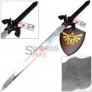 Dark Link Legend Of Zelda Masters Sword Links Nemesis Steel Replica - RAN-22