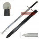 Full Tang Two Handed Viking Longsword - Heat Treated High Carbon Stainless - RAN-28