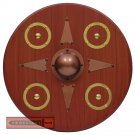 Scottish Targe Highland Warrior Handmade Medieval Shield Hardwood Battle Ready - AHL-17