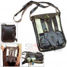 Modern Medieval Steampunk Shoulder Bag Phone Keys Carrier Pouch Renaissance Fair Costume LWP014