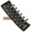 Steampunk Bandolier Utility Belt Attachment Leather Ammo Bullet Slide Waist Holster LWC03