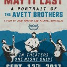 The Avett Brothers Concert  Poster 24x36 inches
