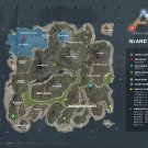 ARK Survival Evolved Map Poster 24x32 inches