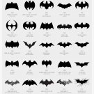 Evolution Of Batman   Poster 12x19 inches