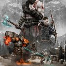 God Of War 4 Poster 24x32 inches