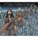 Foo Fighters Concert Poster Print 12x19 inches