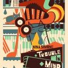 Nina Simone Concert Poster Print 12x19 inches