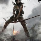 Tomb Raider Lara Croft Poster 24x32 inches