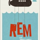 R.E.M Concert Poster 12x17 inches