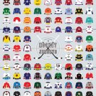 A Visual Compendium Of Hockey Jerseys Poster 24x32 inches