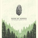 Band Of Horses Concert Poster 12x19 inches