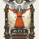The Avett Brothers  Poster 12x19 inches