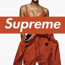 Naomi Campbell Supreme Photo Paper  Poster 12x19 inches