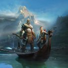 God Of War 4 Poster 24x36 inches