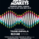 Arctic Monkeys Tame Impala  Poster 12x19 inches