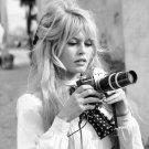 Brigitte Bardot Photo Paper Poster  12x19 inches