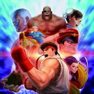 Street Fighter Poster  12x19 inches