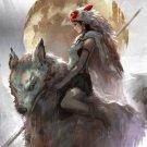 Princess Mononoke   Poster 12x19 inches