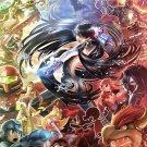 Super Smash bros Bayonetta  Poster 24x32 inches