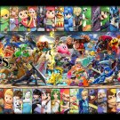 Super Smash Bros Ultimate  Poster 18x38 inches