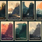 Harry Potter Set 7 Poster 12x18 inches