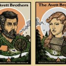 The Avett Brothers Set 2 Concert   Poster 12x17 inches