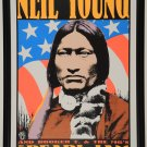 Neil Young Pearl Jam Concert  Poster 18x24 inches