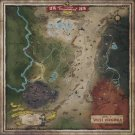 Fallout 76 Map Poster 25x25  inches