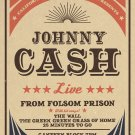 Johnny Cash  Poster 18x24 inches