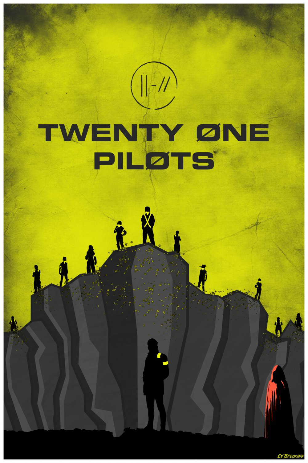 Twenty One Pilots  Poster 24x36 inches