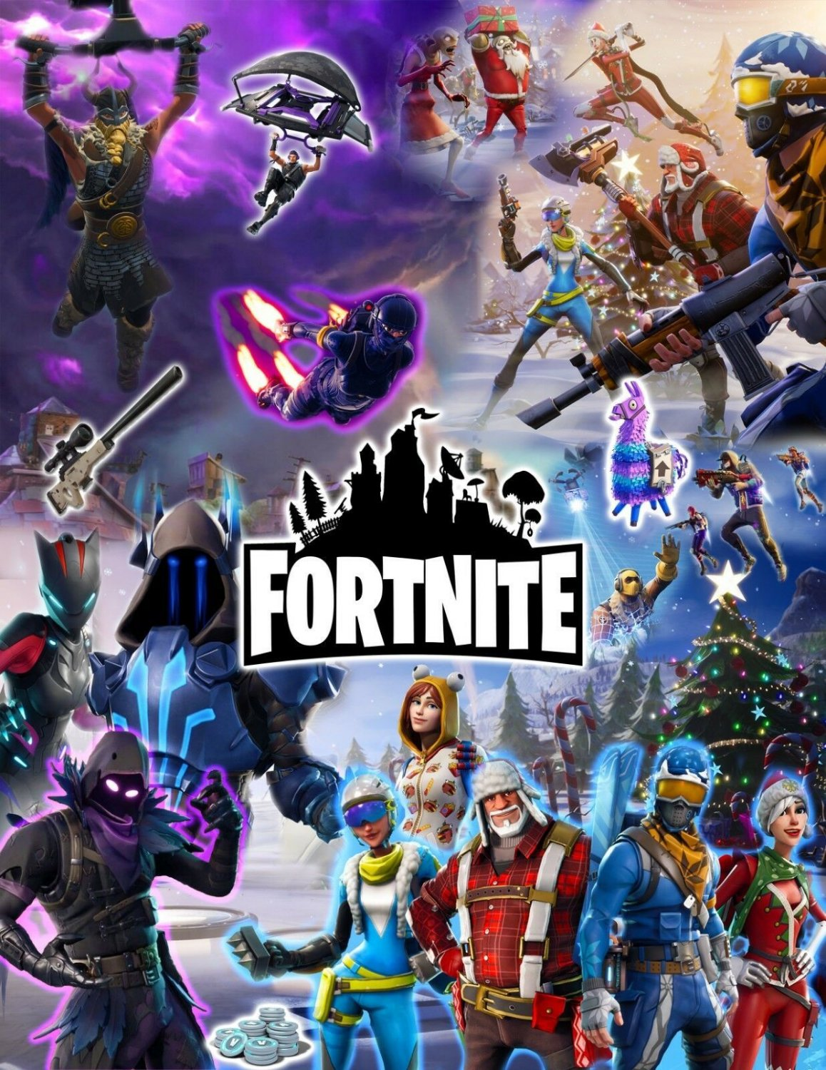 Fortnite Game   Poster 12x19 inches