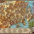 Borderlands  Map  Poster 20x20 inches