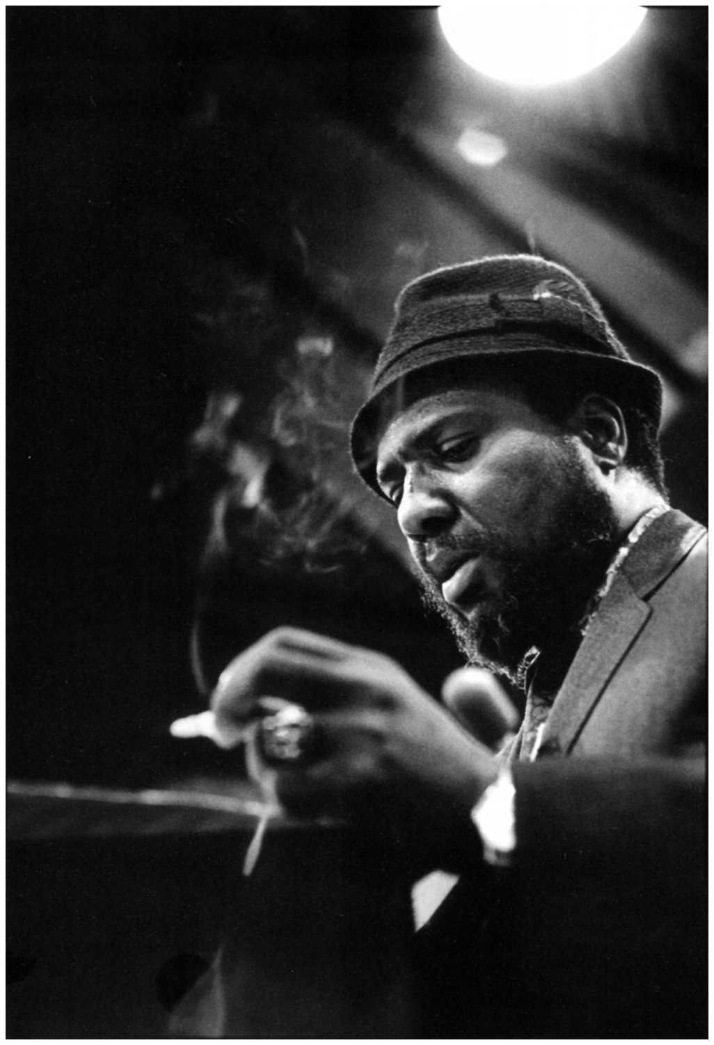 Thelonious Monk Poster Satin Photo Paper 12x17 inches