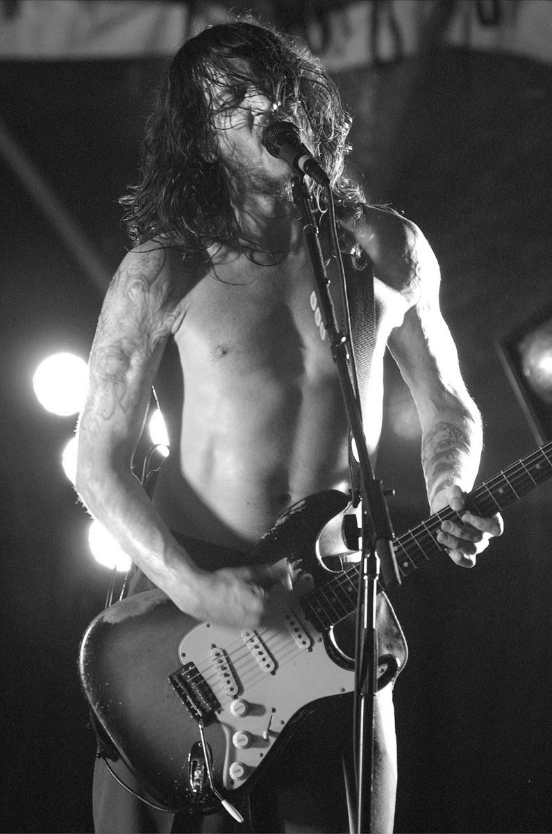 John Frusciante Red Hot Chili Peppers Satin Photo Paper   Poster 12x17 inches