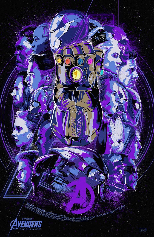 Avengers Endgame  Poster Print 12x19 inches