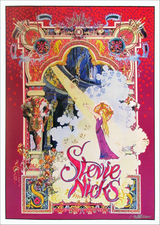 """Stevie Nicks Poster """"Celtic Light"""" 18x24 inches"""