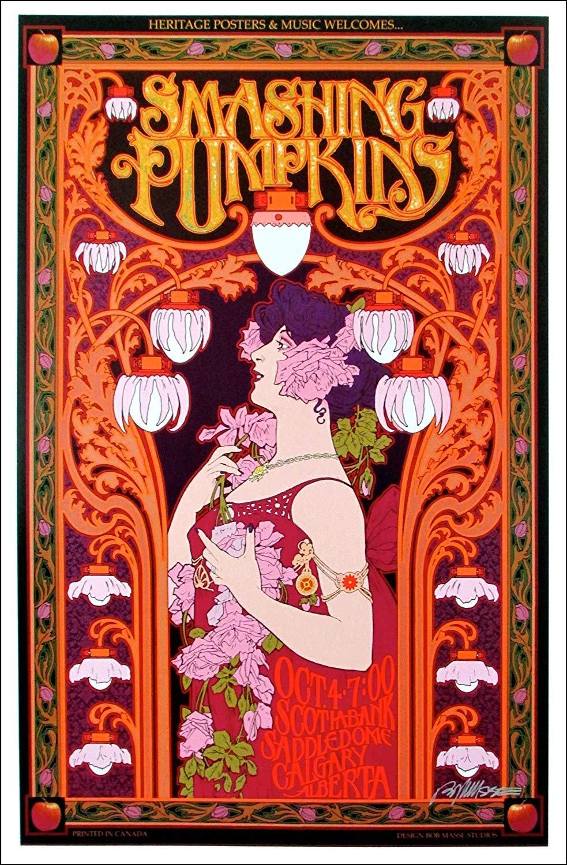 Smashing Pumpkins Poster 12x17 inches